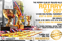 Rotary Cup 2017 Website Poster
