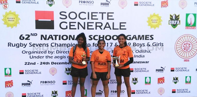 MS Rugby makes more news as girls grab Silver in Odisha