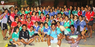 St. Marys Girls bag top honours at the 11th Mumbai Inter-School Touch Rugby Championship 2017