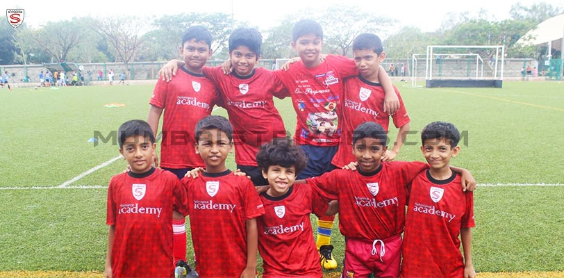 Mumbai Strikers Performance Academy at the Mumbai City Pop-up Tournament.