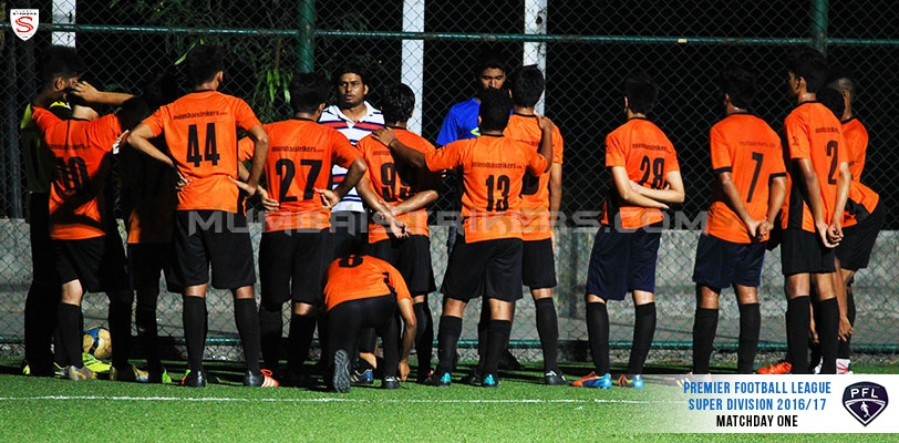 Mumbai Strikers register comprehensive win in the Premiership Football League