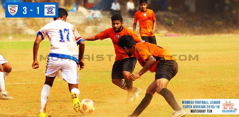 Mumbai Strikers SC tame MS Police to book a Semis spot