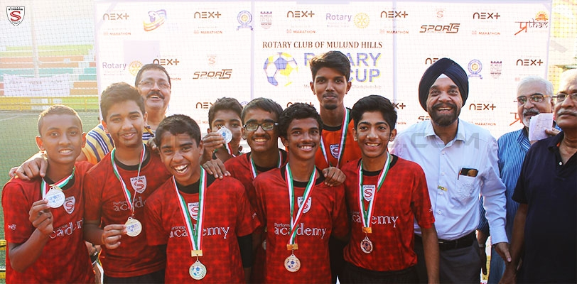MS Performance Academy U16 colts finish Runners-up at the Rotary Cup 2017
