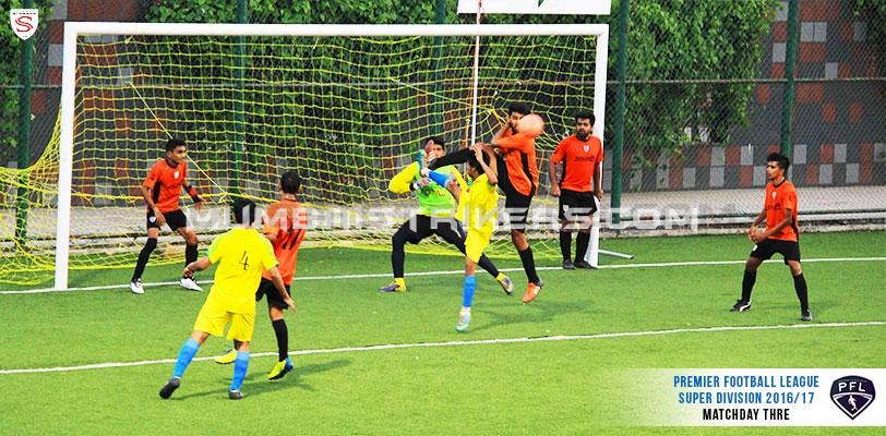 Mumbai Strikers handed first defeat in Palava's Premiership Football League