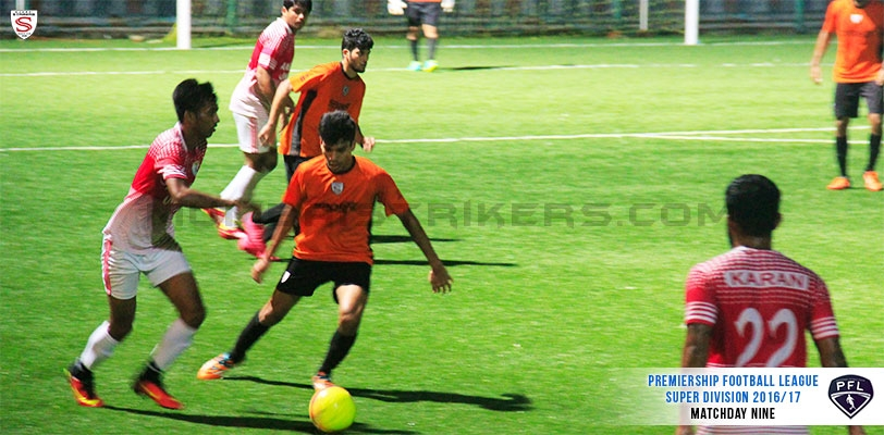 Mighty Ambernath United dominate MS in the last encounter of the PFL