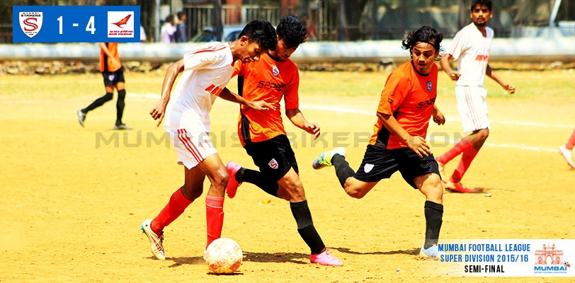 Mumbai Strikers SC succumb to Air India U-19 in the semis