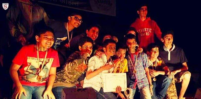 MS Performance Academy boys win football tournament at Nahur Mahotsav 2015